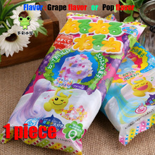 Free shipping, Dly candy,Japanese food, 1 piece,Grape flavor,Japanese snacks, Candy, Gift, sweets and candy, Food,Snack,(China (Mainland))