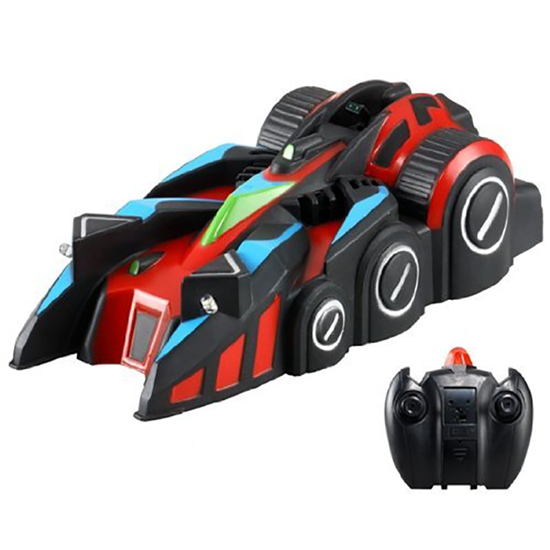 9920E Mini Infrared Remote Control RC Car for Wall Climbing with LED lights Toys Ceiling Climbing Anti Zero Gravity Electric Toy(China (Mainland))