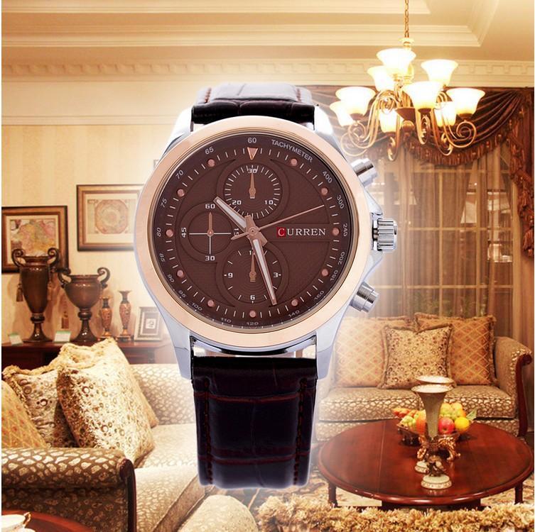 New Curren Men watch top fashion casual wristwatches men best gifts relojes mujer 2015 relogio masculino quartz watches men male(China (Mainland))