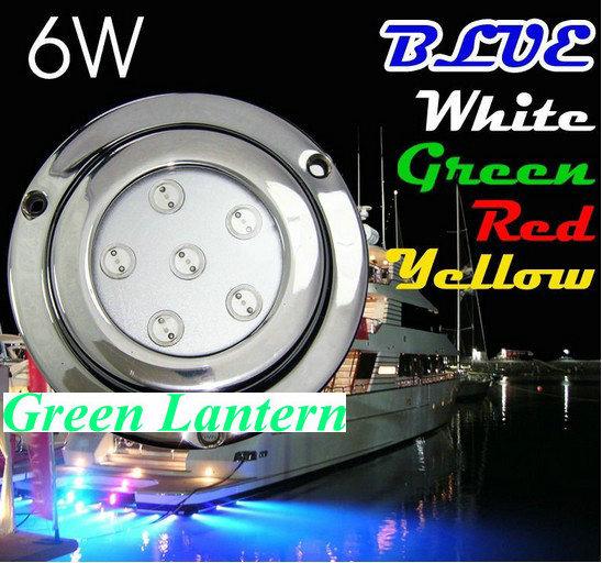 Фотография 6W stainless steel surface ED underwater boat light