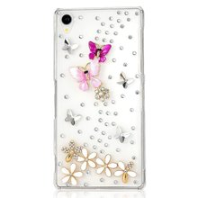 Buy new arrival bling diamond rhinestone protective shell mobile phone case cover sony Xperia T3 M50W/M2 Aqua/Z2/Z3/E4/E4G case for $4.23 in AliExpress store