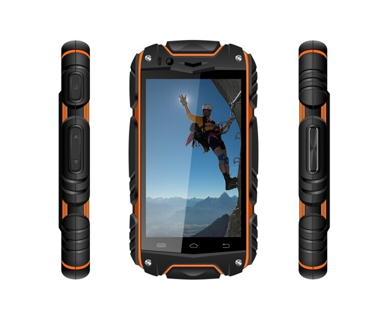 Original Discovery V8 : Waterproof Dustproof Shockproof 4 Inch IPS Android 4.2 Dual core Dual SIM Cameras Smart Phone GPS WIFI(China (Mainland))