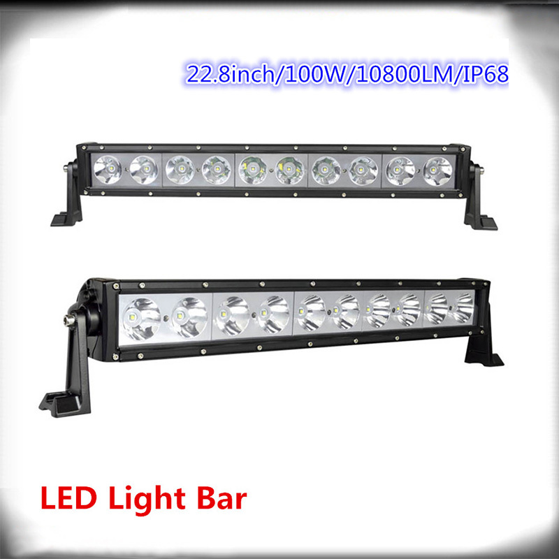 100W single  row  high power led off road light bars,10pcsX10W  OFFROAD LED light, LED WORK LIGHT  CREE! S9<br><br>Aliexpress