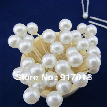 Wholesale 30pcs Lot Crystal Rhinestone Flower Pearl Hair Pins Clips Grips Wedding Bridal Hair Accessories For Women Hair Jewelry