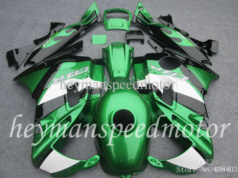 Body Kit Fit green CBR 600 RR F2 91 92 93 94 Injection molded fairing HONDA CBR600RRF2 1991 1992 1993 1994 91-94 Afterm - yuxia song's store