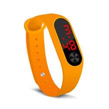 Reloj inteligente mujer relógio de pulso relógios eletrônicos relógio inteligente relógio digital anel de mão relógios led sports relogio(China)