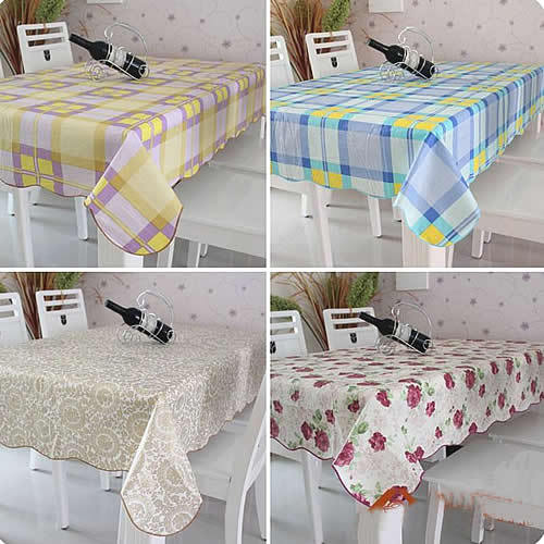 """U95""""137*183cm Home Pvc Table Linen Tablecloth Oilproof Waterproof High Temperature Resistant Dining Table Cloth(China (Mainland))"""