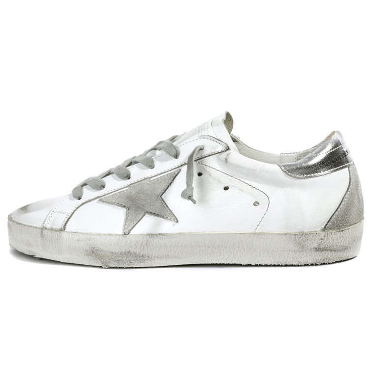 Luxury Brand Golden Goose Italy Handmade Sneakers Men And Women Comfortable Low For Casual White Board Shoes Female