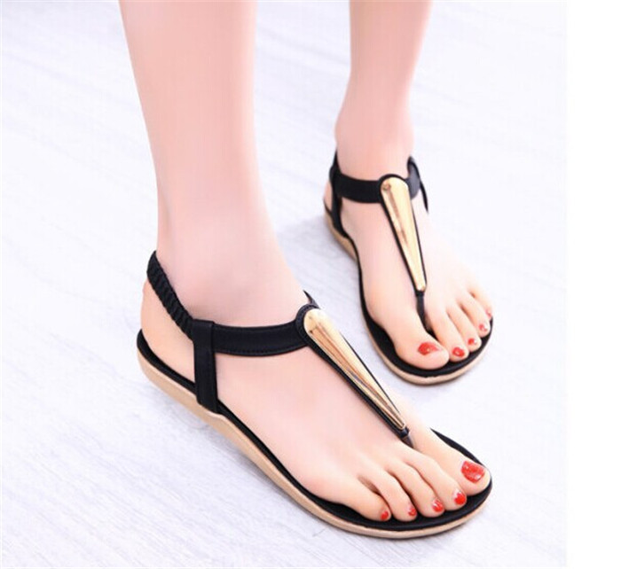 Cool Women SandalsFlat Sandalsfashion Flat Shoes2014 Lady Slippers