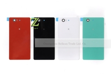 Buy 100% working 1pcs Z3 mini Back Housing Battery Door Glass Cover Sony Xperia Z3 Compact D5803 D5833 back cover for $2.90 in AliExpress store