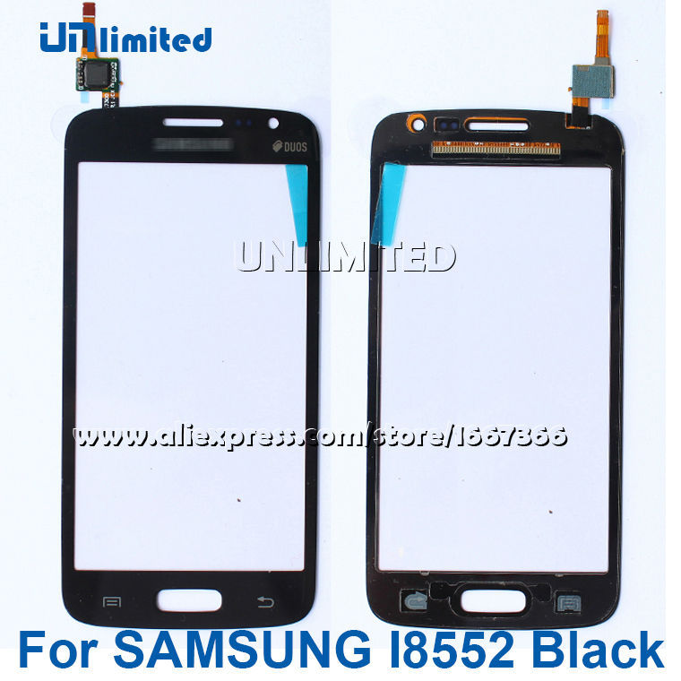 New 100% Original Touch Screen Digitizer Panel For Samsung Galaxy Win GT i8552 Black Free Shipping+Tracking