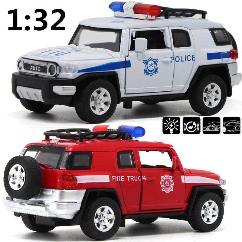 Special 1:32 scale alloy Police car, pull back toys, model cars, children's gifts,free shipping(China (Mainland))