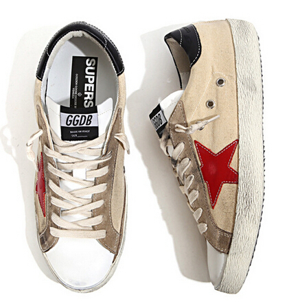 2015 Handmade Italy Deluxe Brand Golden Goose GGDB Sneakers,100% Genuine Leather Fashion Women Men Superstar Shoes,Size EU 34-46