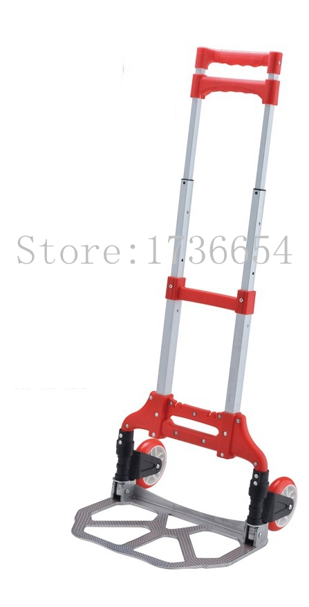 GF-H002A Luggage Foldable trolley car Portable folding trolley small trailer truck pulling luggage cart shopping cart(China (Mainland))