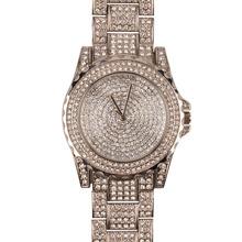 Ladies Luxury Brand Fashion Women Watches Rose Gold Quartz Watches Ladies Rhinestone Wrist watches Dress Watches