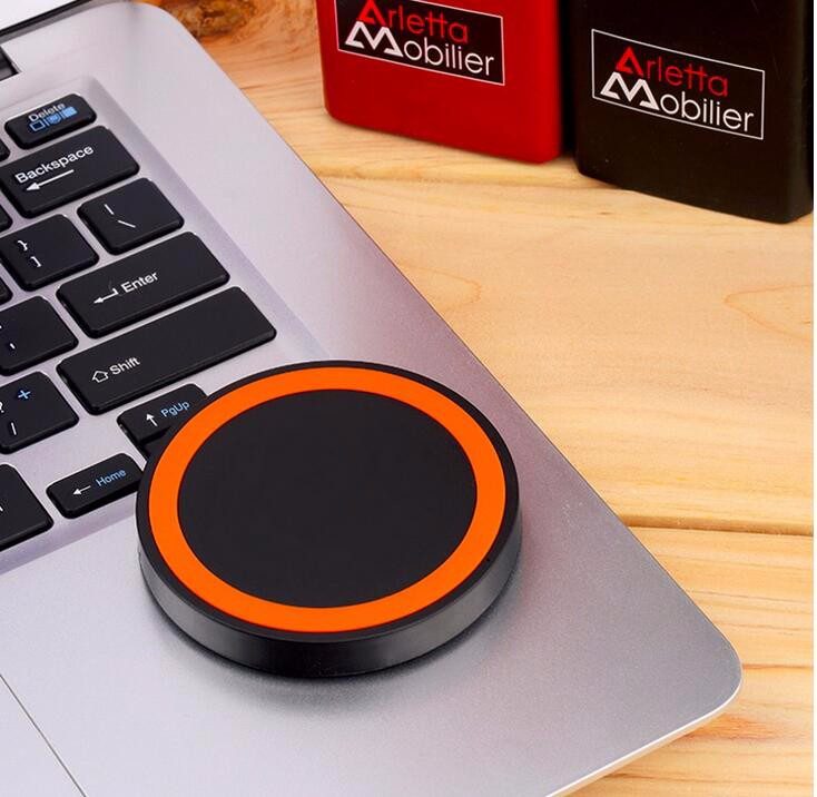 High Quality 5 Colors Universal Qi Wireless Power Charging Charger Pad For Mobile Phone for iPhone 6 High Quality