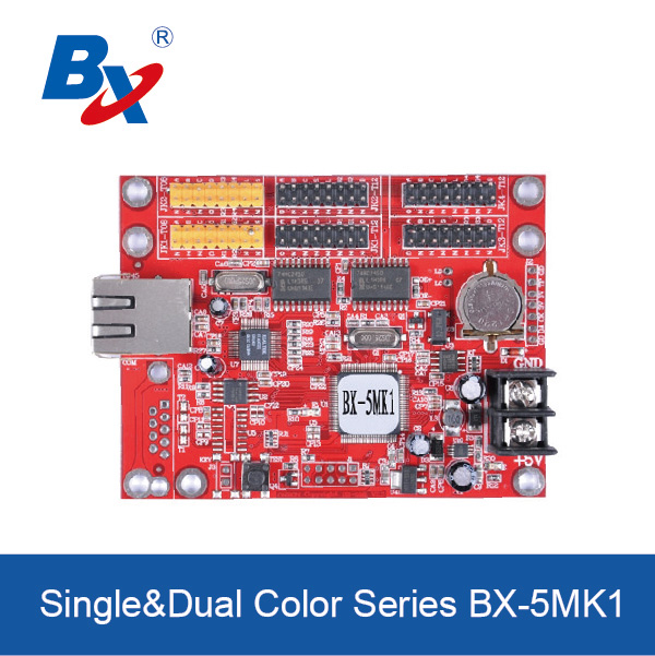 BX-5MK1 multi-area font library LED controller