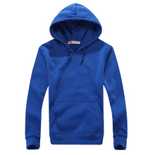 New 2016 Spring Men's Womens Hoodies Lovers Casual Fashion Solid Color Sportswear Sweatshirts 5 Colors A53(China (Mainland))