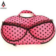 Sexy Lady's Underwear Case Travel Boxes Organizer Fashion Stylish Portable Lingerie Storage Box For Bra Bag Carries Organizador(China (Mainland))