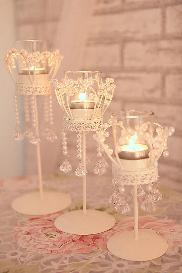 online buy wholesale crystal beaded votive candle holders. Black Bedroom Furniture Sets. Home Design Ideas