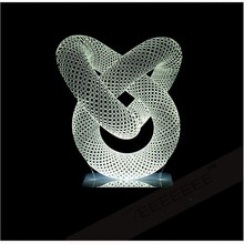Fashion Pipe 3D Fashion Table Lamp Luminaria De Mesa Table Lamp For Bedroom Art Deco Night Light Fantastic Gift Abajur(China (Mainland))