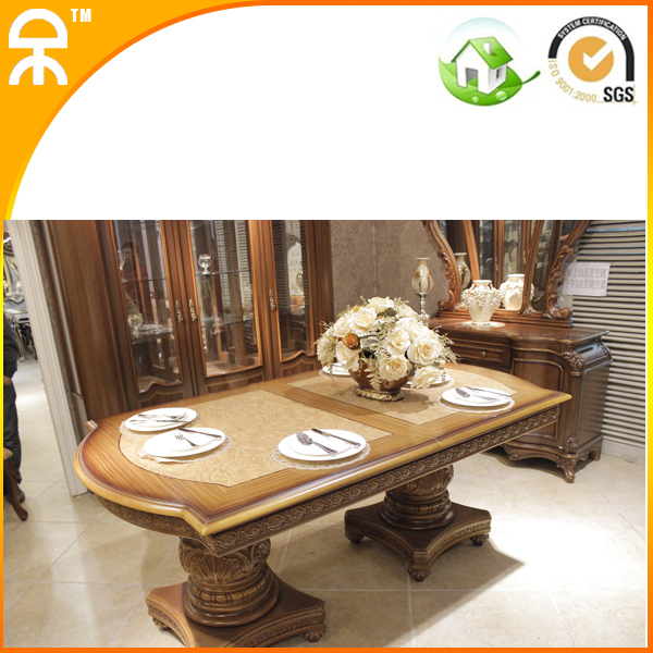 Big Rectangle Luxury Dining Set For Big Family 1 6 Chair In Dining Tables
