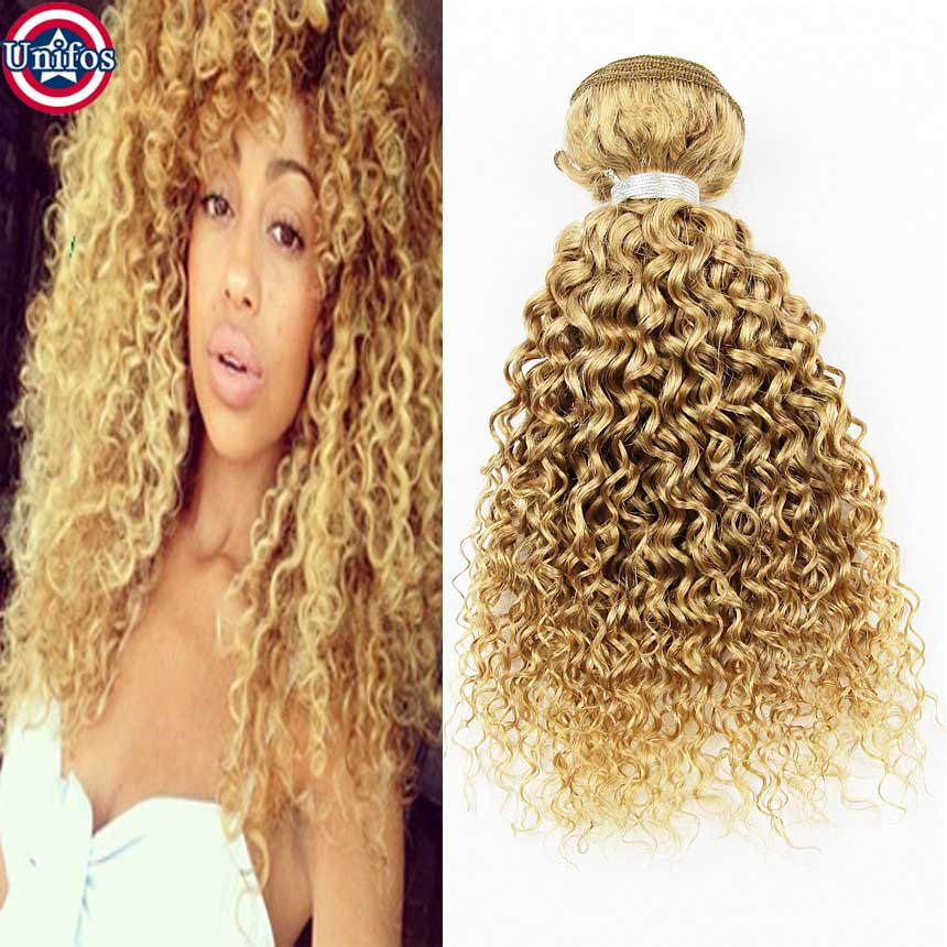 Гаджет  Honey Blonde Brazilian Hair Weaves 3pcs Blonde Curly Weave Cheap Human Hair Extensions Weft Tissage Brazilian Blonde Virgin Hair None Волосы и аксессуары