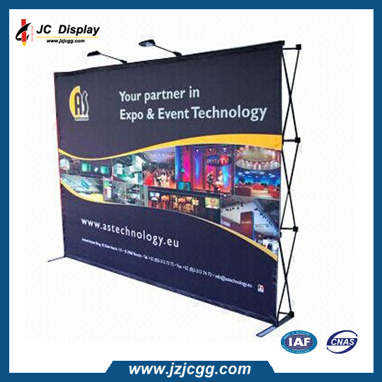 3x3 Exhibition Booth Portable Fabric Pop up Exhibition Displays(China (Mainland))