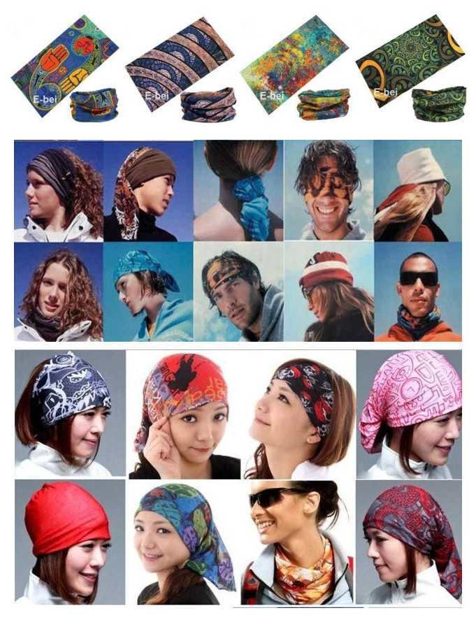 Mixed Batch Multifunctional Headwear Neck Bandana Multi Scarf Tube Mask Cap Large Number of Style Wholesale/Retail Free ShippingОдежда и ак�е��уары<br><br><br>Aliexpress
