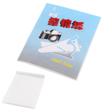 1 Booklet 50 Pcs 10cm x 7.5cm Soft Cleaning Paper for Camera Lens(China (Mainland))