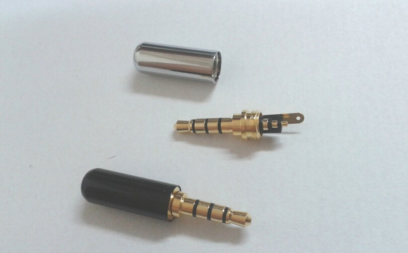 compare prices on plug repair online shopping buy low price plug 20pcs brass 1 8 3 5mm male 4 pole stereo plug repair headphone cable