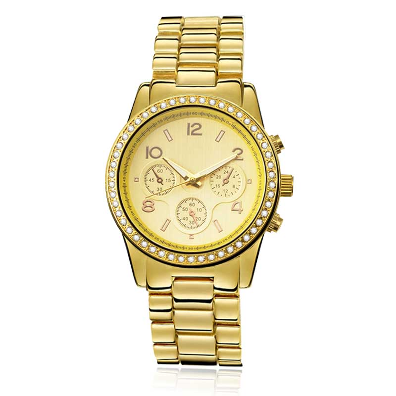gold designer watches for