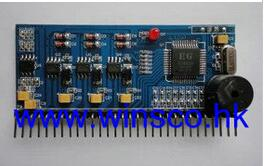 FREE SHIPPING EGS031 100% NEW EG 3 phase pure sine wave inverter drive board EG8030 test board UPS EPS(China (Mainland))