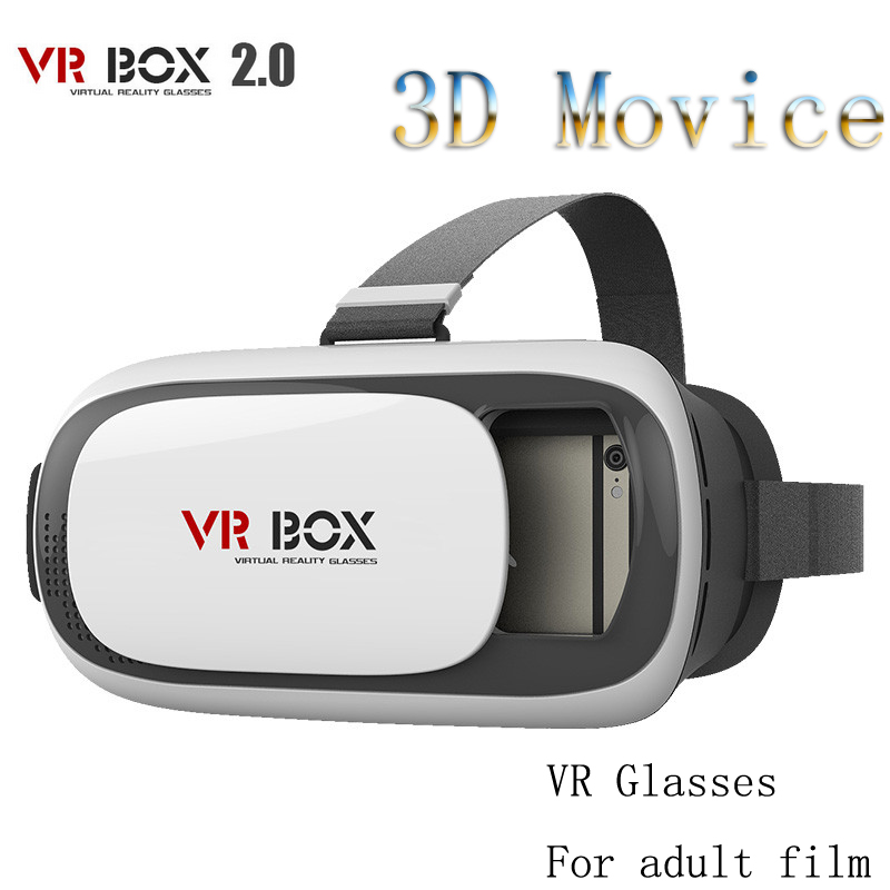 2016 Universal Google Cardboard VR BOX 2 Virtual Reality 3D Glasses Game Movie 3D Glass For iPhone Android Mobile Phone Cinema(China (Mainland))
