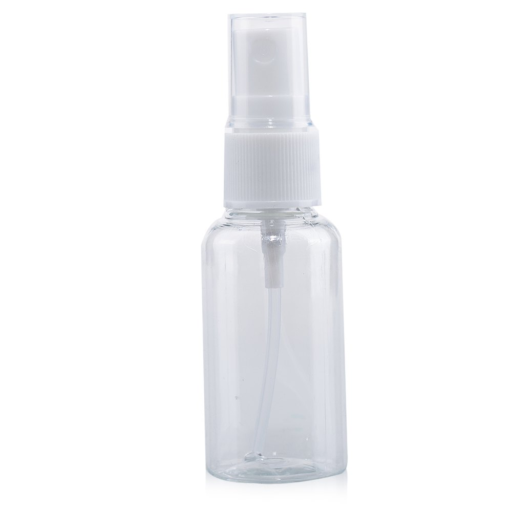High Quality Refillable Plastic Perfume Make Up Transparent Small Empty Spray Bottle 30ml Sprayer(China (Mainland))