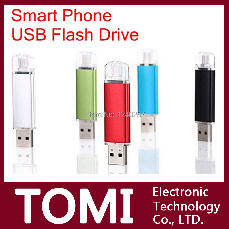 New usb flash drive 4G 8G 16G 32G Smart Phone USB2.0 pen drive memory stick drive Tablet PC OTG external storage micro pendrive(China (Mainland))
