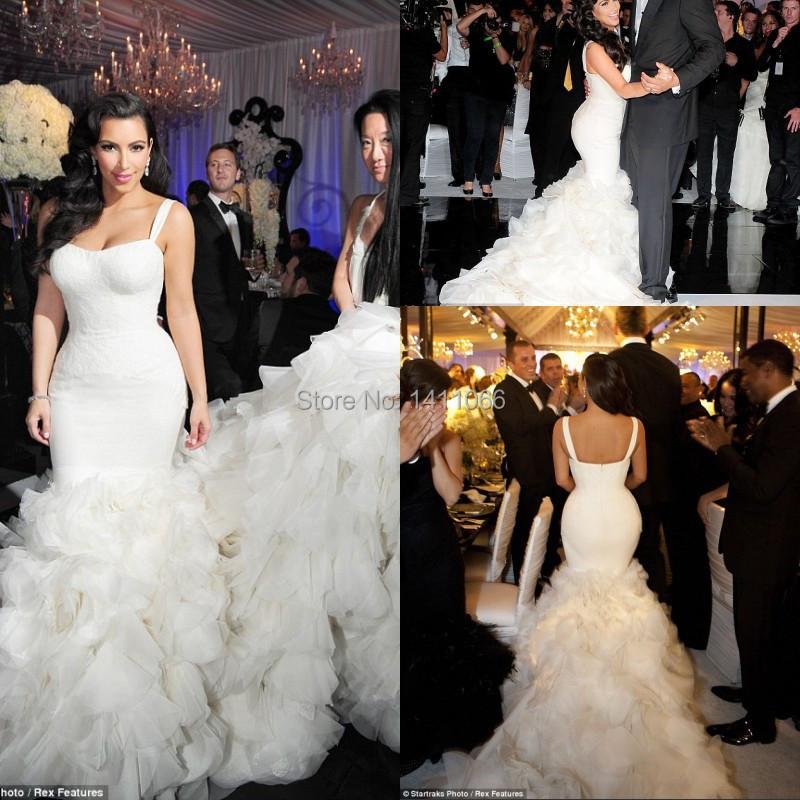 Kim Kardashian Dresses 2014 Wedding