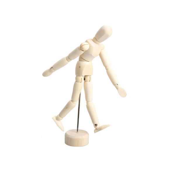 Wooden Male Artist Manikin Jointed Mannequin Hand Blockhead Puppet 4.5/5.5/8 inch<br><br>Aliexpress