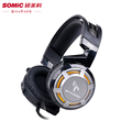Somic G926 USB Gaming Headset with Microphone LED Light For PC Game Professional 7 1 Surround