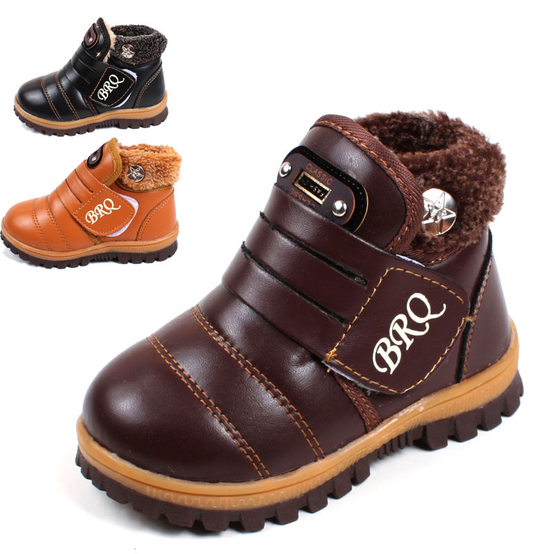 2016 Winter kids boots 1 - 5 years old baby boys and girls keep warm cotton boots snow boots high quality children sneakers(China (Mainland))