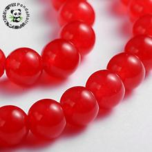 "Buy Natural Malay Bead Strands, Round Dyed Beads, Red, 8mm, Hole: 1mm; about 49pcs/strand, 15.4"" for $3.86 in AliExpress store"