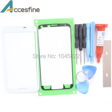 S5 Front Glass Lens for Samsung Galaxy S5 i9600 G900 Touch Screen Outer Glass Cover With UV Loca Glue & Repair Tools & Adhesive(China (Mainland))