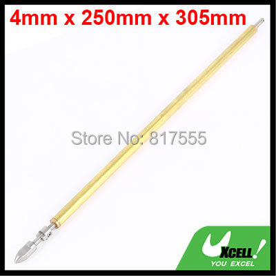 305mm x 4mm Stainless Steel Solid Drive Shaft w Brass Tube for RC Boat Discount 50(China (Mainland))