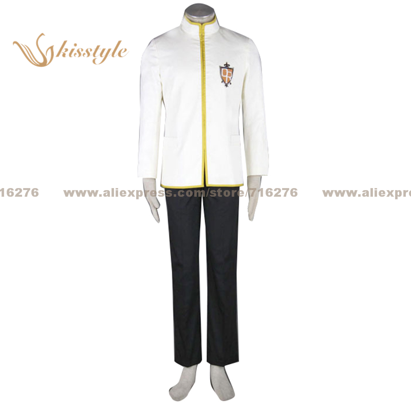 Фотография Kisstyle Fashion Ouran High School Host Club Boy School White Uniform COS Clothing Cosplay Costume,Customized Accepted