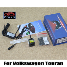 Fog Snow Rain Haze Bad Weather Auto Rear Laser Lights / Traffic Anti-Collision Light Volkswagen VW Touran 2011~2013 - Collo Automobile Club store