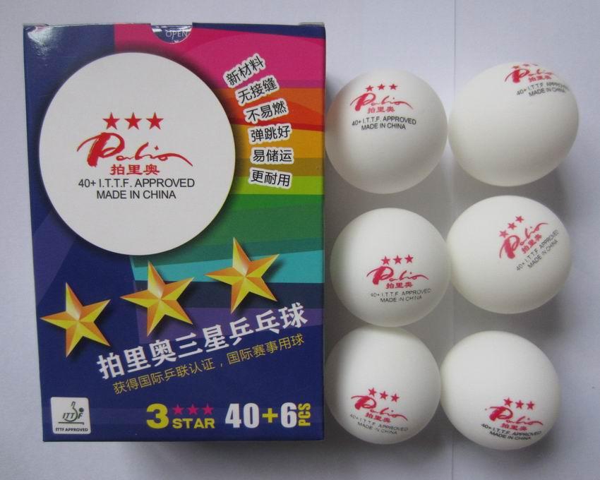 Мячи для настольного тенниса из Китая