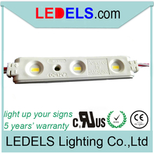 Buy 5 years warranty UL CE ROHS WATERPROOF 1.2w 12v 120LM 3-leds 5630 samsung led module channel letter for $675.00 in AliExpress store