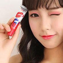 6 Colors Waterproof Lip Gloss Peel Off Mask Tint Long Lasting Lipstick(China (Mainland))