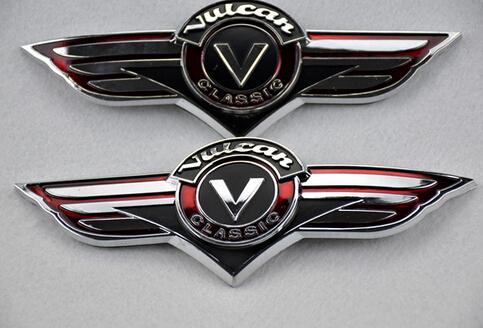 3D Gas Tank Sticker Emblem Badge Fuel Decals Fits For Kawasaki VN Vulcan Classic VN400 VN500 VN800 VN1500(China (Mainland))