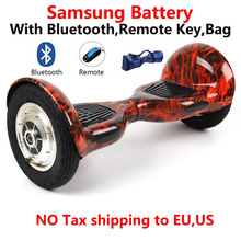 Buy Tax free Hoverboard Samsung battery smart self balancing electric scooter balance Skateboard Standing Drift HoverBoard for $86.36 in AliExpress store